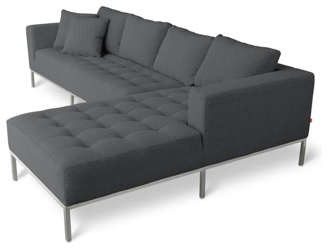 Gus Modern Carter Sectional Sofa Modern Sectional