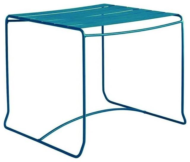 Table Basse De Jardin M Tal Carr E 50x50 Pasadena Couleur