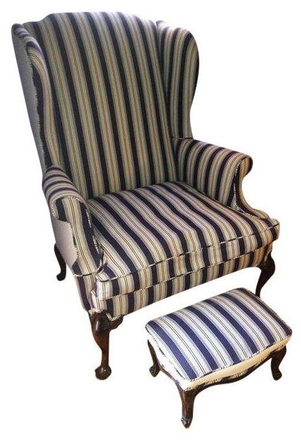 Pre-owned John Widdicomb 1969 Wing Back Chair traditional-armchairs ...