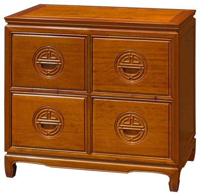 Rosewood Longevity Design File Cabinet asian-filing-cabinets