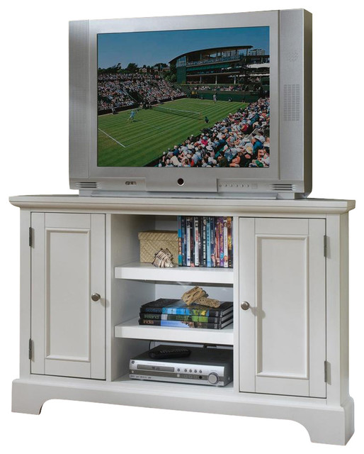 Corner TV Stand - Contemporary - Entertainment Centers And Tv Stands - by ShopLadder
