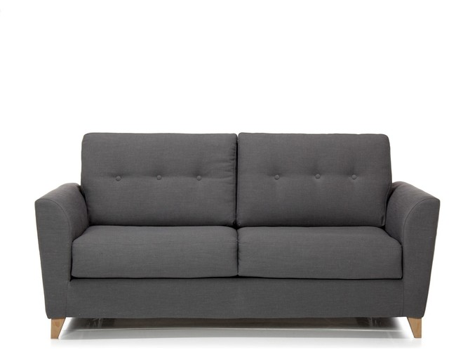 Canape convertible couchage quotidien alinea for Canape banquette convertible