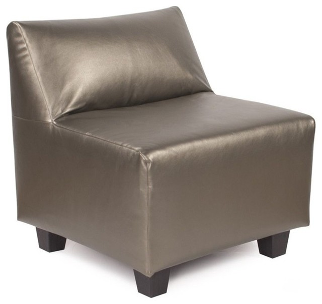 howard elliott atlantis pewter pod chair contemporary