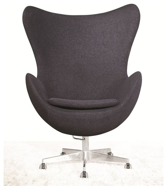 Inner Office Chair Grey Fabric