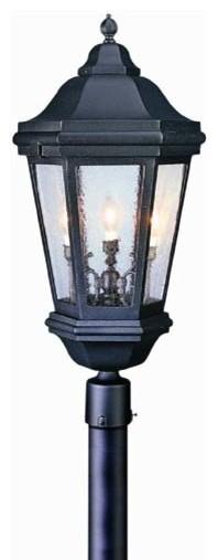 Verona Outdoor Post Light Modern Post Lights By Lightology