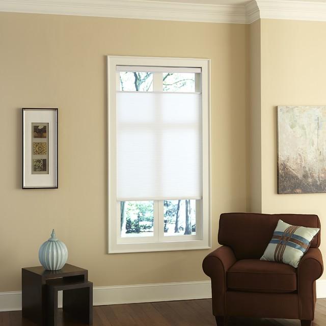 cordless top down bottom up cellular shades modern plissees houston von. Black Bedroom Furniture Sets. Home Design Ideas