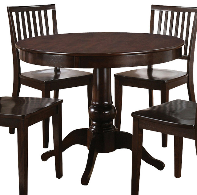 Espresso Round Dining Table stanley furniture 712 11 38 hudson