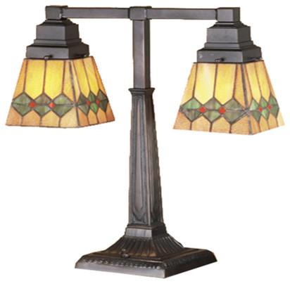 20 h martini mission 2 arm desk lamp arts crafts. Black Bedroom Furniture Sets. Home Design Ideas