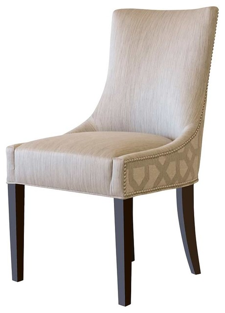Park avenue dining chair contemporary dining chairs los angeles by plush home by nina - Plush dining room chairs ...