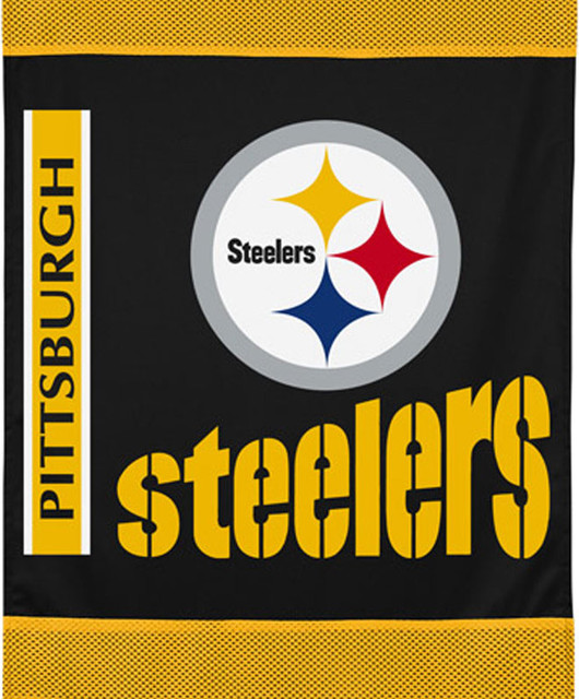 Nfl Pittsburg Steelers Football Logo Wall Hanging Accent