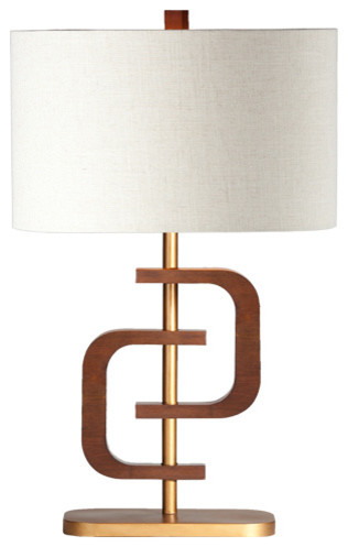 Coco 1 ring lamp modern table lamps by ziqi home fashion inc