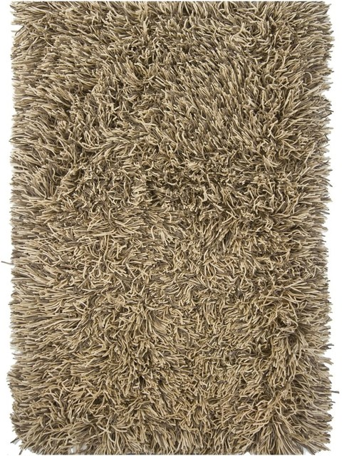 shag cyrah 5 39 x7 39 6 rectangle light brown white area rug. Black Bedroom Furniture Sets. Home Design Ideas