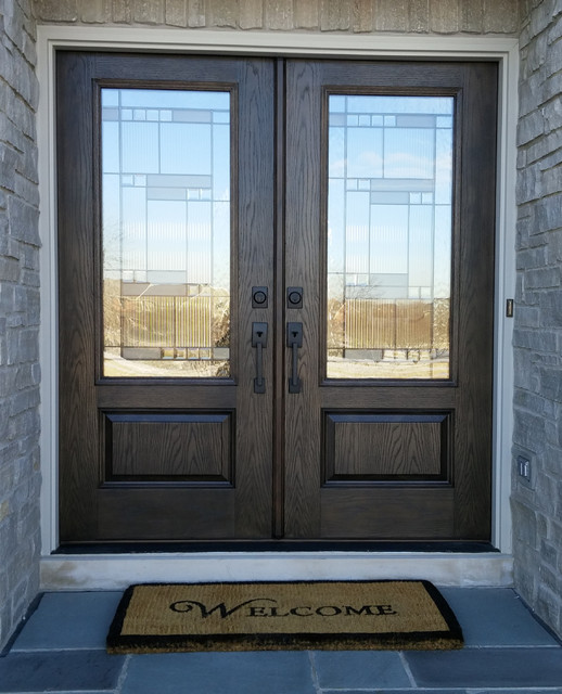 Fiberglass exterior doors traditional front doors milwaukee by western building products for Western building products exterior doors