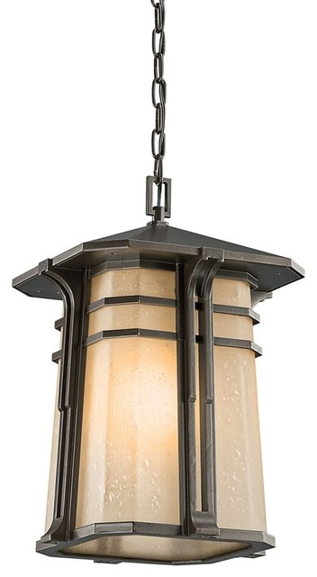 Outdoor Lighting Fixtures Arts And Crafts KICHLER 49180OZ North Creek Arts And Crafts Mission Outdoor Hanging Light C