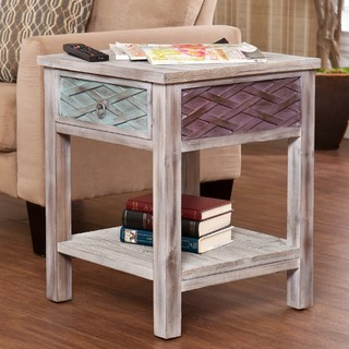 Upton Home Lafond End Side Table Contemporary Side Tables End Tables By