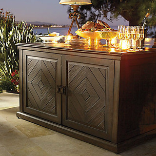 Marsala Buffet Contemporary Patio Furniture And