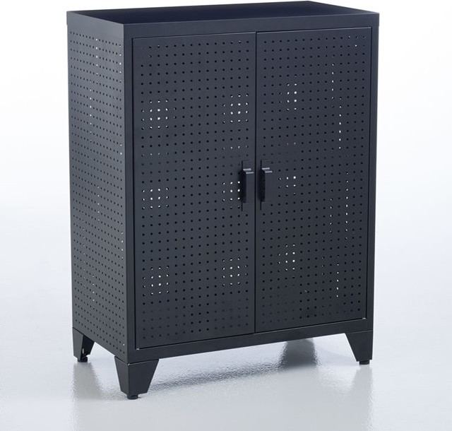 armoire perfor e locker contemporain table de chevet. Black Bedroom Furniture Sets. Home Design Ideas