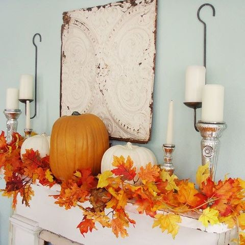 47 Cozy Fall Mantel Decor Ideas