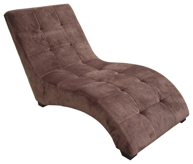 modern brown chaise contemporary indoor chaise lounge