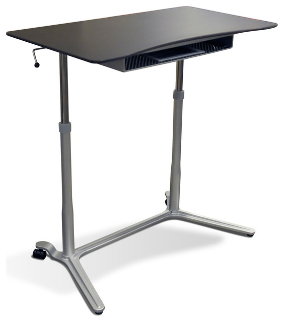 height adjustable sit or stand desk modern desks and hutches by jesper office