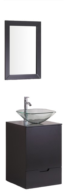 Brillo Vanity Without Mirror Contemporary Bathroom Vanity Units Si