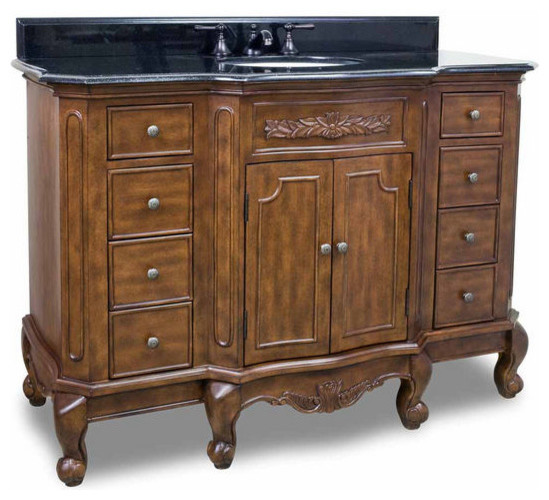 Lyn Design Bathroom Vanities Traditional Bathroom Vanities And Sink Conso