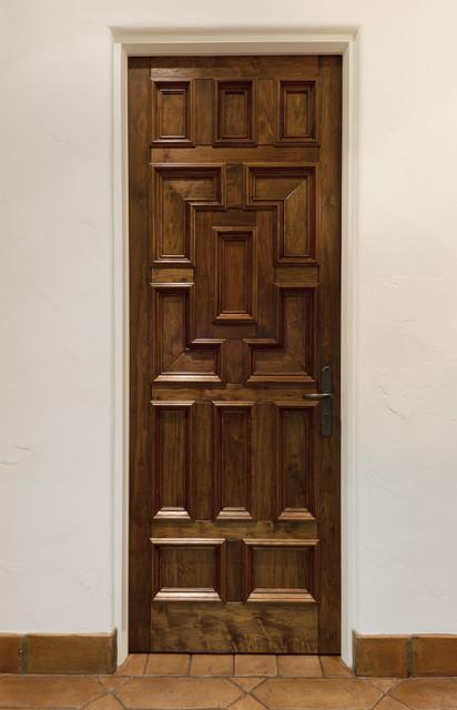 Spanish colonial mediterranean front doors other for Door in spanish