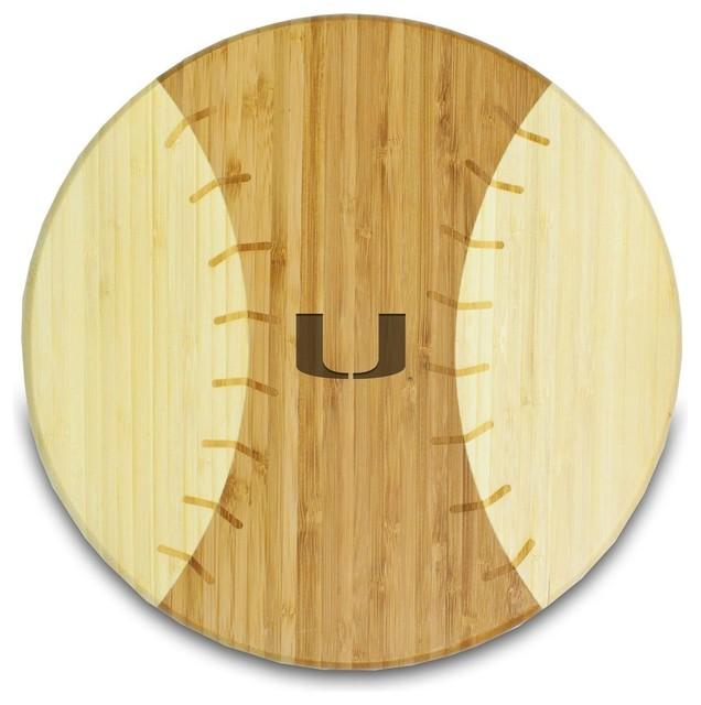 University Of Miami Homerun Cutting Board Modern Cutting Boards