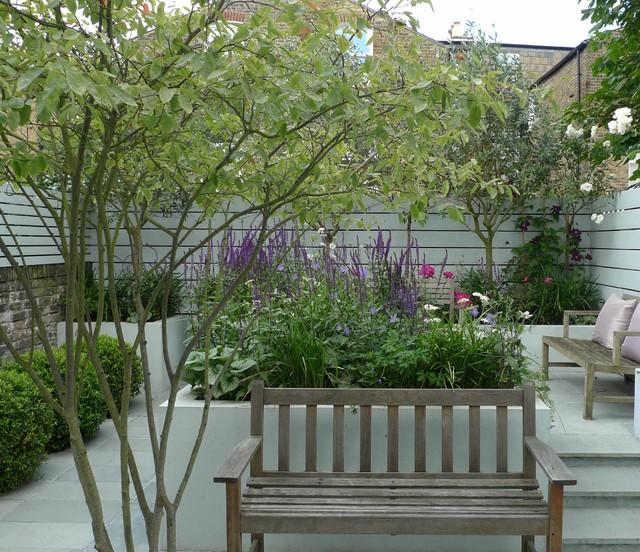 Small urban garden - Contemporary - Garden - london - by ...