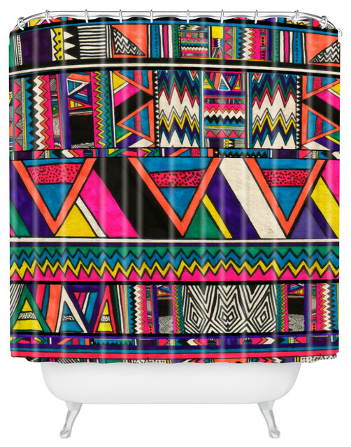 aztec print curtains images - reverse search