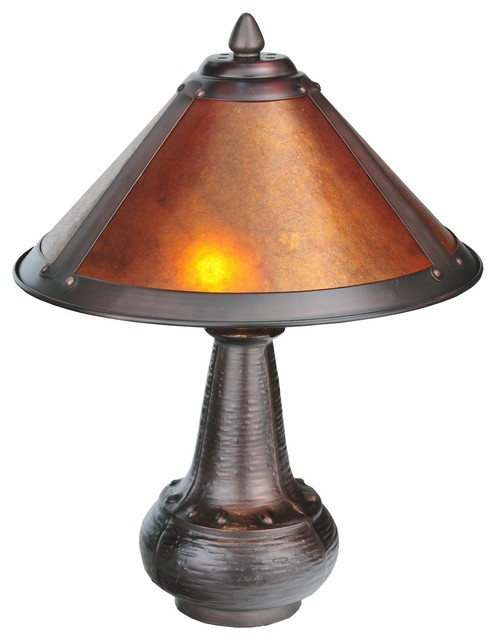 dirk van erp tiffany accent lamp x 91622 arts and crafts table lamps. Black Bedroom Furniture Sets. Home Design Ideas