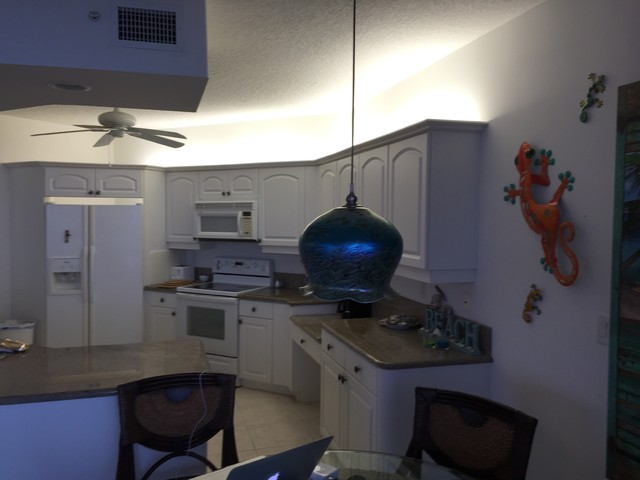 Beach Condo Remodel Beach Style Kitchen Other By Creative Floors Carp