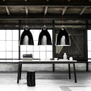 Caravaggio pendant light dia40cm l size contemporary pendant lighting other metro by - Topson lighting ...
