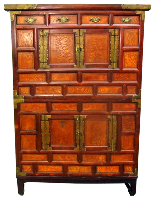 Consigned Korean Antique Chest on Chest - Asian - Accent Chests And Cabinets - by Oriental ...