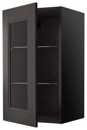 RAMSJÖ Wall cabinet with glass door - Scandinavian - Kitchen Cabinetry - by IKEA