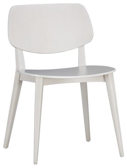 Scoop Side Chair Modern Dining Chairs Other Metro