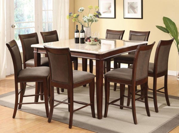 Marble Top Counter Height Dining Table Thejots