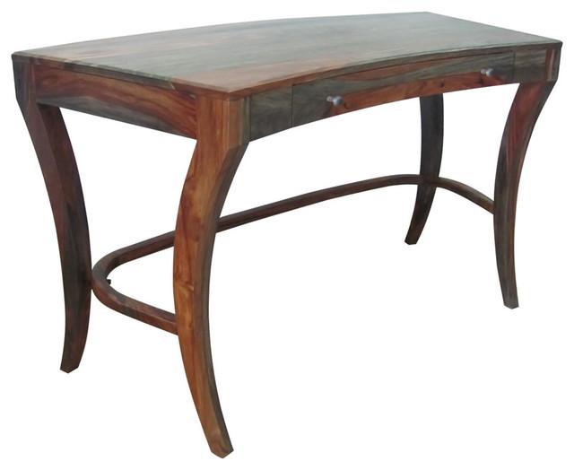 Christopher Knight Home Sheesham Highlight Wash One-Drawer Writing Desk - Contemporary - Desks ...