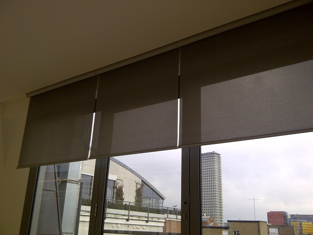 Recessed Blinds By Kitchen Windows