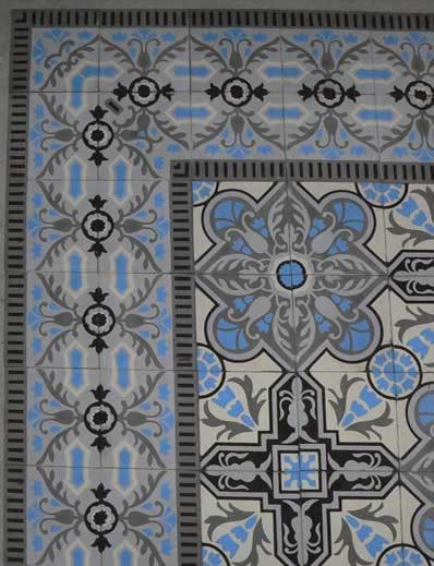 Cuban Heritage Design Handmade Cement Tile Di