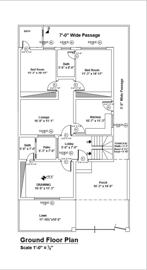 Home Design Layout In Pakistan - House Design Plans
