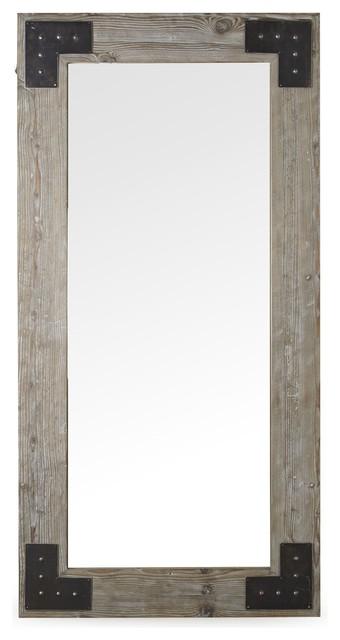 ware miroir style industriel 90x180cm contemporary