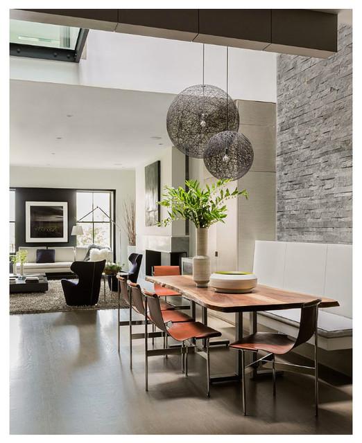 Atrium House Magazine Layout Shot Contemporary