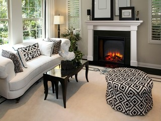 Heat & Glo Built-In Electric Fireplace Series