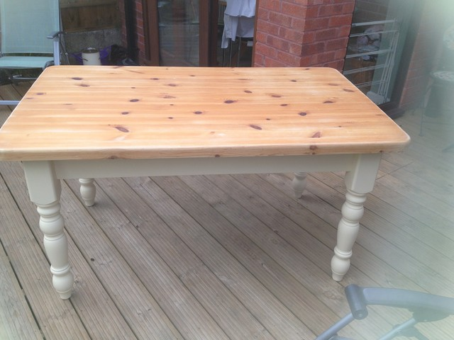Upcycled kitchen and dining tables for Upcycled dining table