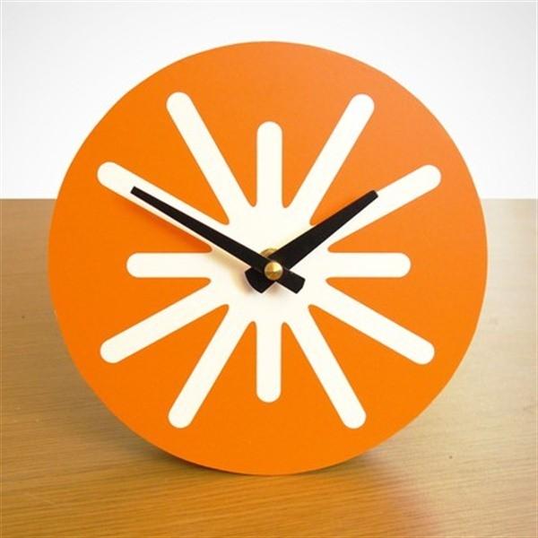 Pilot Design Small Splat Desk Clock Contemporary Desk