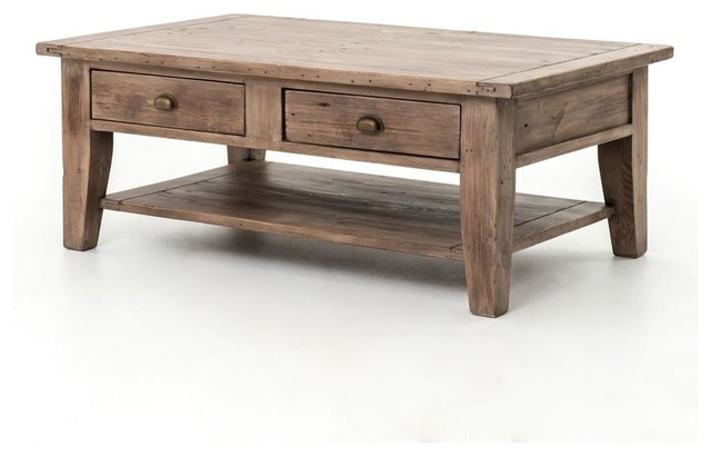 Four Hands Irish Coast Table Coffee Table Transitional Coffee Tables By Seldens Furniture