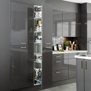 cooke lewis rectangular storage system contemporary kitchen