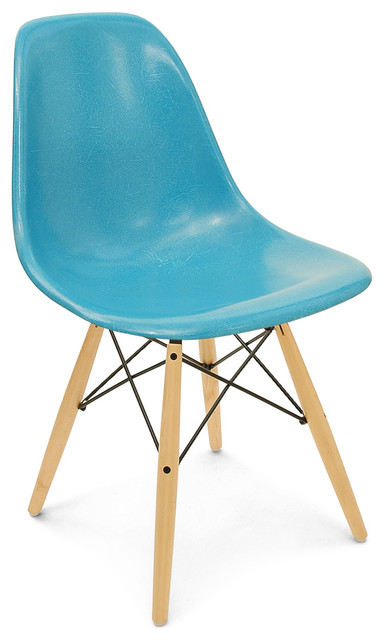 Fiberglass Dowel Side Chair Modernica Modern Dining Chairs By HORNE