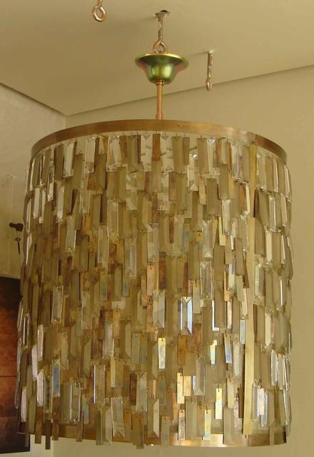 Dunkirk 8 Light Chandelier Aged Brass Finish Crystals